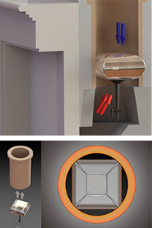 smartballoon abdichtballon f r schornstein und offene kamine g nstig kaufen beim online shop. Black Bedroom Furniture Sets. Home Design Ideas